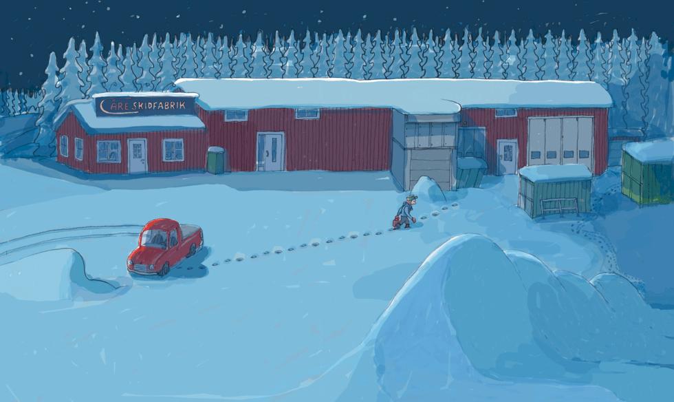 Berättelsen om Åre Skidfabrik