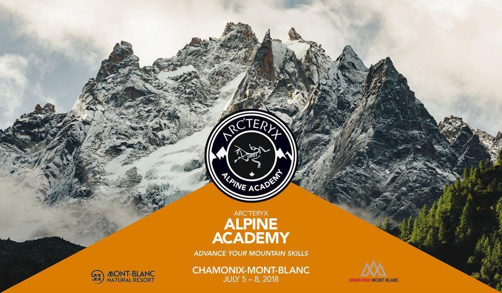 Missa inte anmälan till Arc'teryx Alpine Academy i sommar