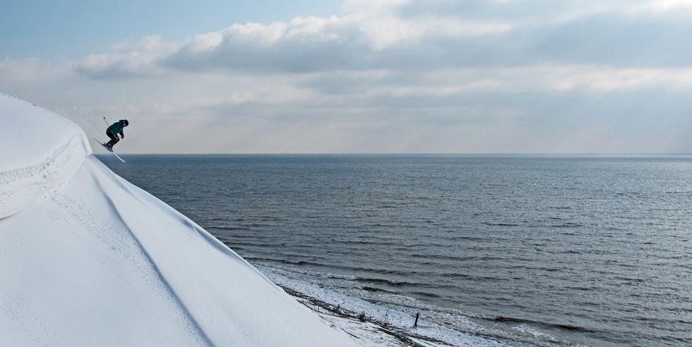 Sveriges sydligaste skidåk