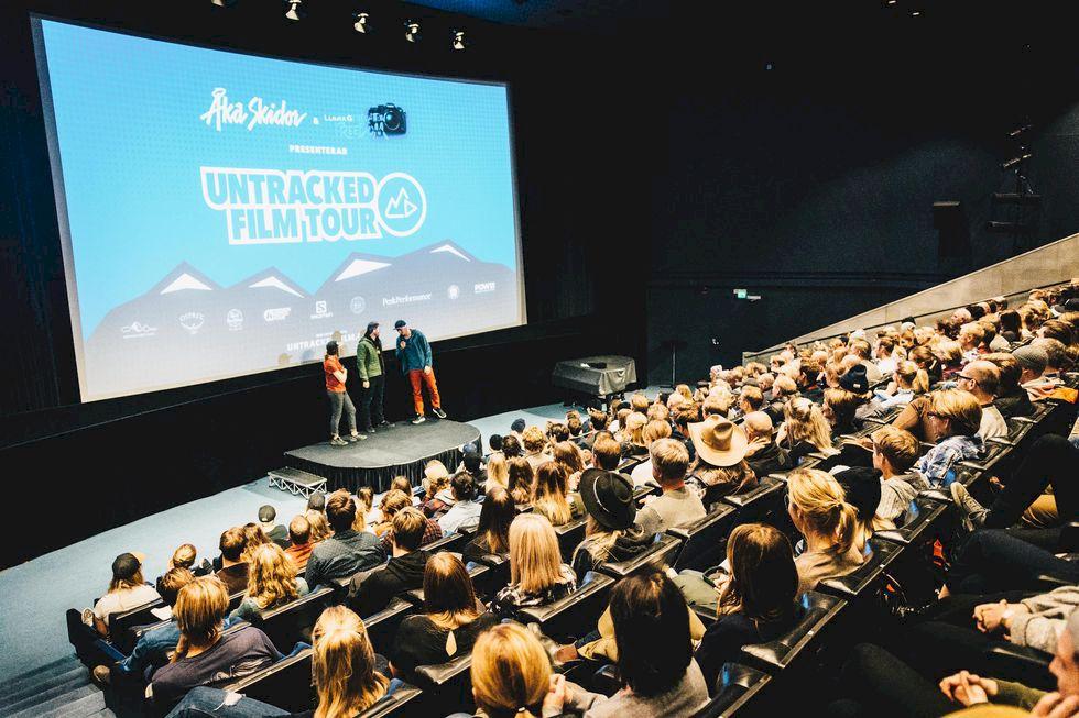 Bildbonanza: premiären av filmturnén