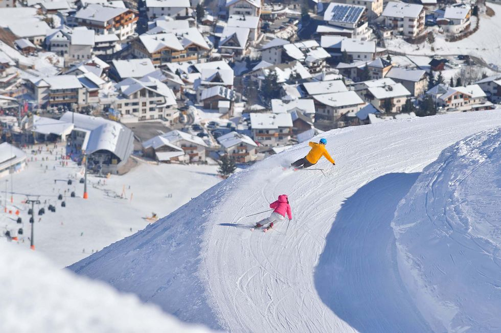 9 hemliga giganter i Alperna