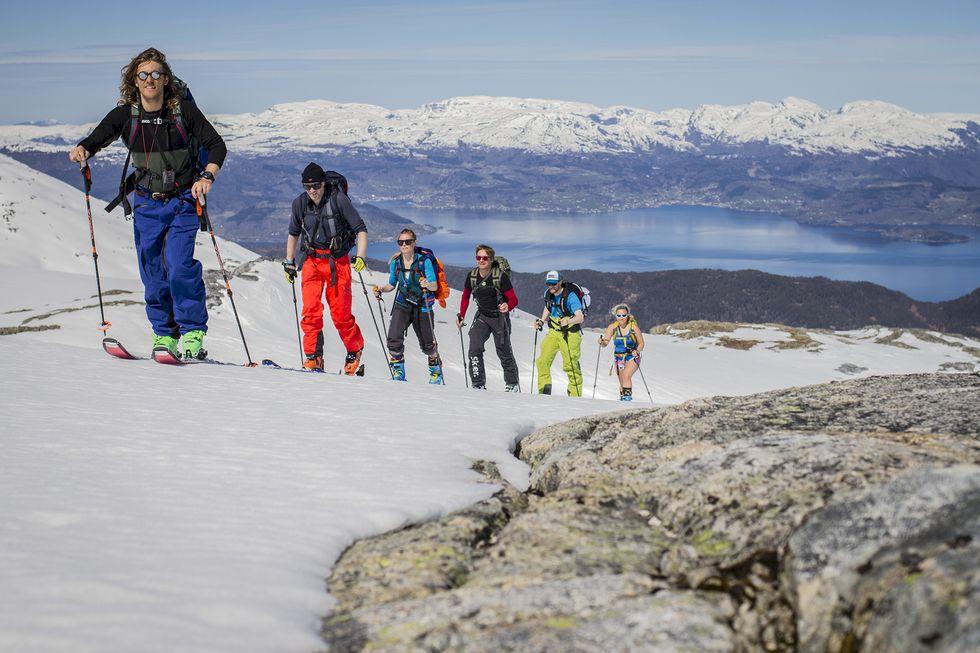Ski n' sail med Statsraad Statsraad Lehmkuhl