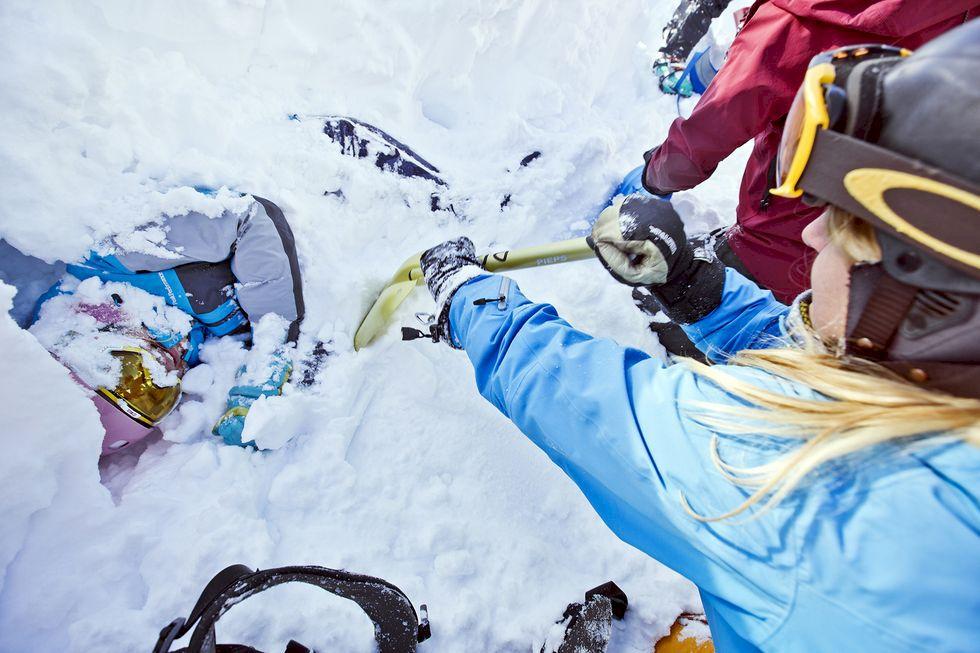 Säker passion på berget