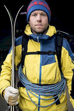 Jesper Petersson - storåkande doldis i Chamonix