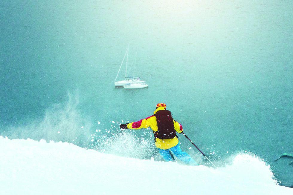Åka Skidor listar: Här ligger snön fortfarande djup