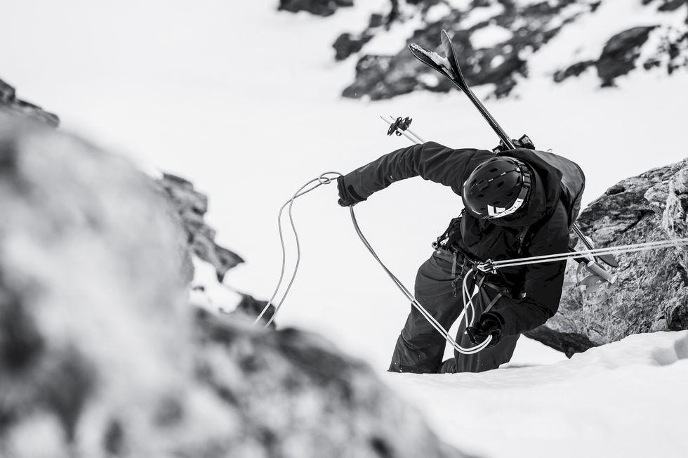Alpernas 10 mäktigaste skidåk