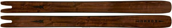 7 snygga handgjorda träskidor