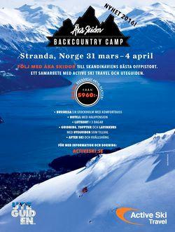 Åka Skidor Backcountry Camp