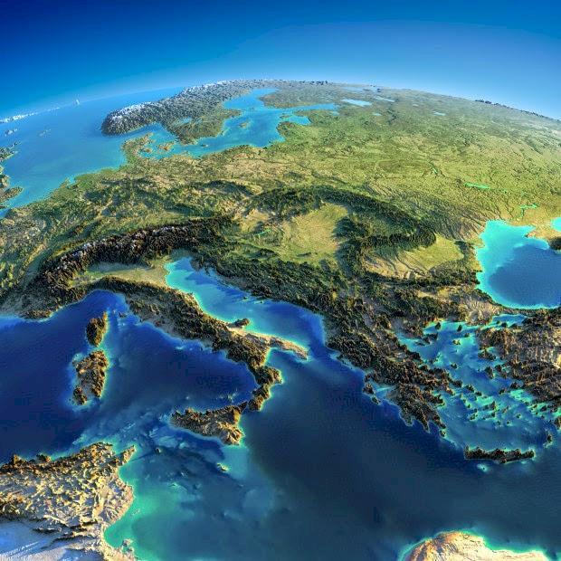 Se världens berg i 3D (eller ja, nästan)