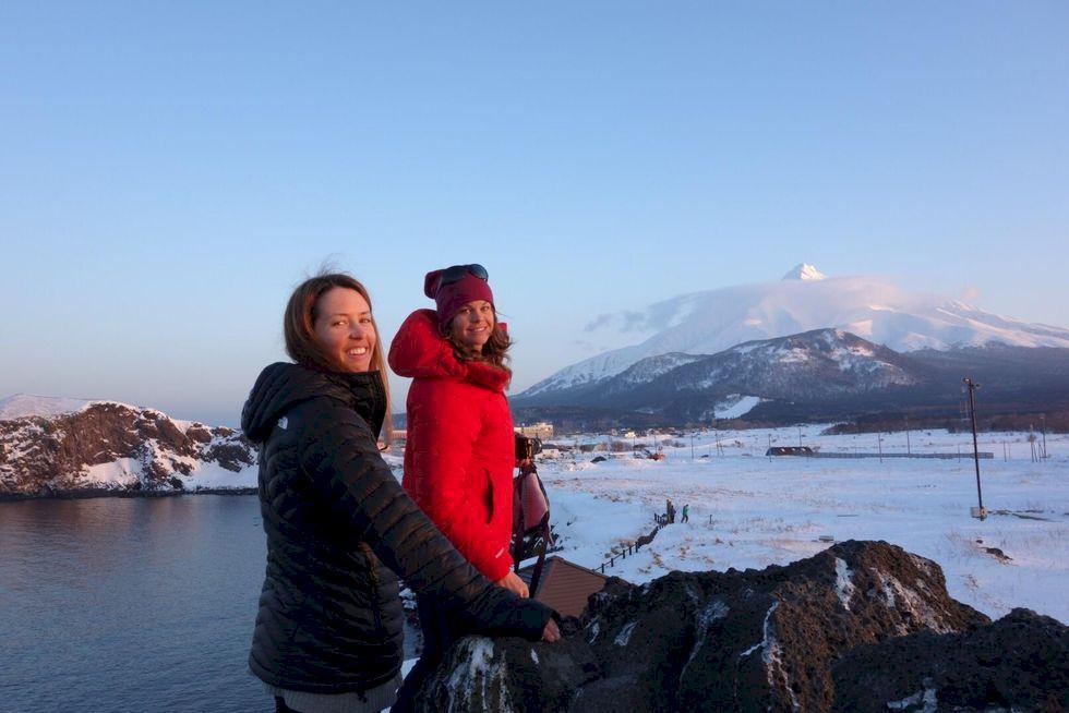 Mt Rishiri: äventyr i Japanska havet