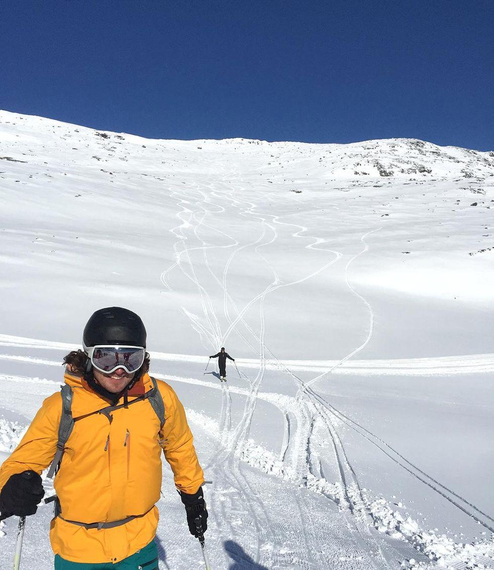 De vann Audi och Åka Skidors Ski Camp-tävling