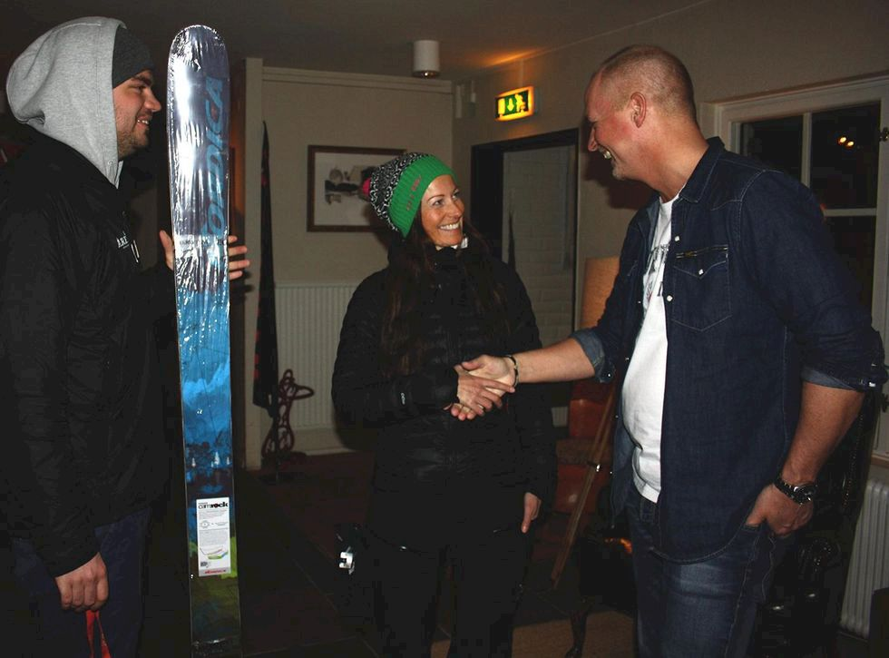 De vann Nordica Patron-skidorna