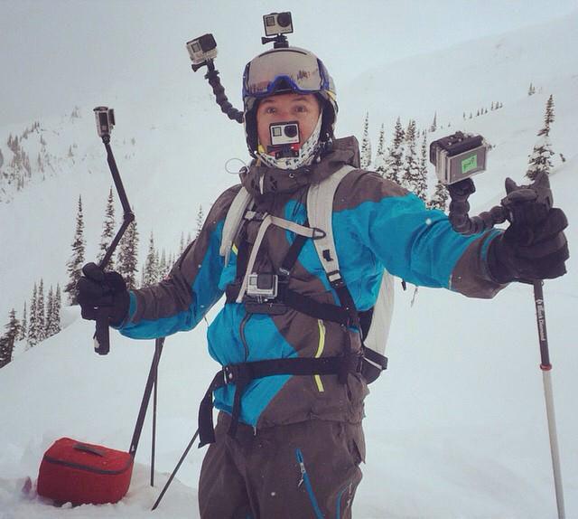 När filmandet på berget går för långt