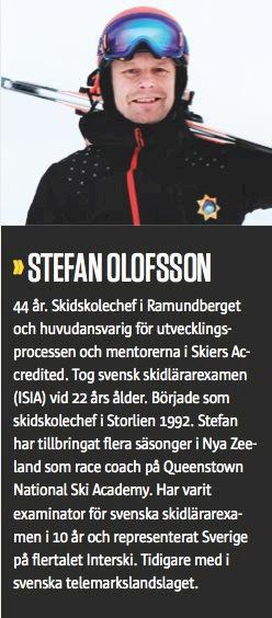 Åka Skidors teknikskola del 1