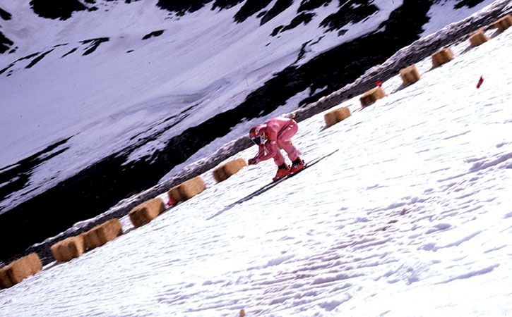 Steve McKinney – 200 knyck på skidor