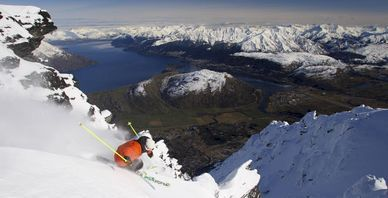 Skidåkning på Nya Zealand