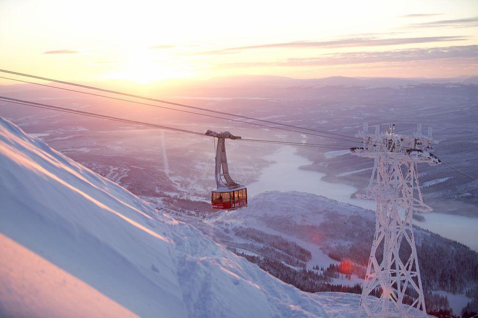 Senaste nytt om Kabinbanan i Åre: finns kvar i vinter