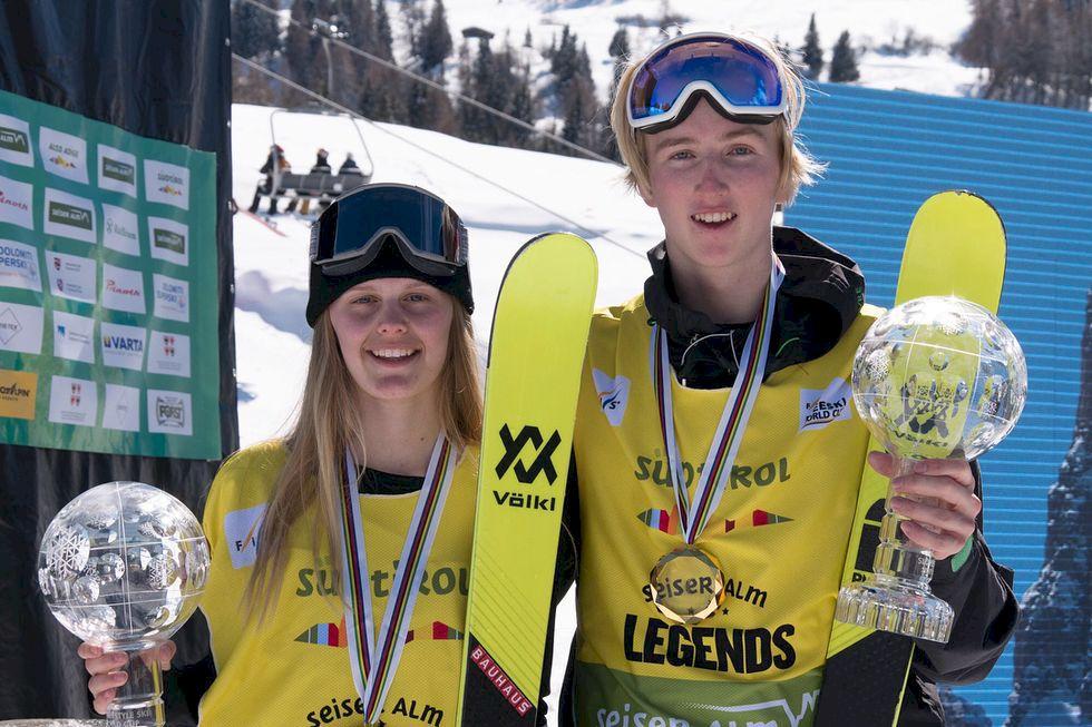 Sveriges freestyle-damer levererar i den totala världscupen