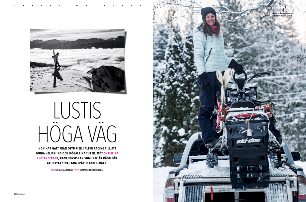 Följ med Åka Skidor på äventyr