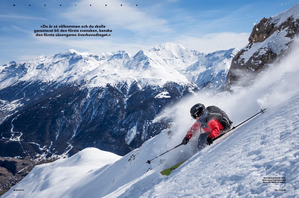 Åka Skidor levererar ljuset i januarimörkret