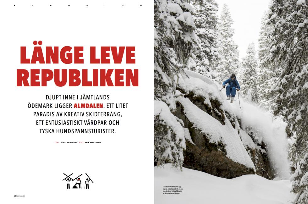 Åka Skidor går djupt i december