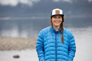 Evelina Nilsson på väg mot Nya Zeelands Vulkaner