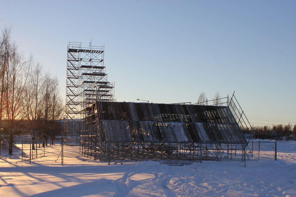 Big Air-tävling och skidfest i Luleå