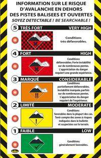 Nytt varningssystem för laviner testas i Frankrike