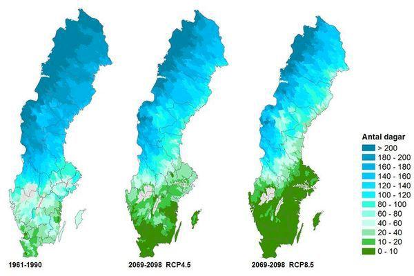 SMHI: Svenska skidorter riskerar att smälta bort