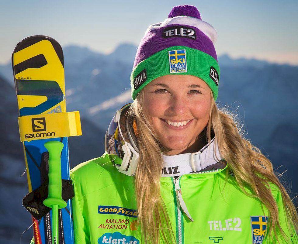 Anna Holmlund vann överlägset i Åre