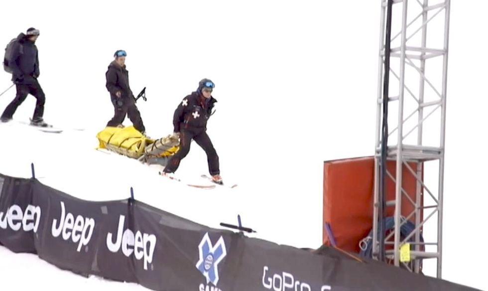 Henrik Harlaut skadad i svår krasch