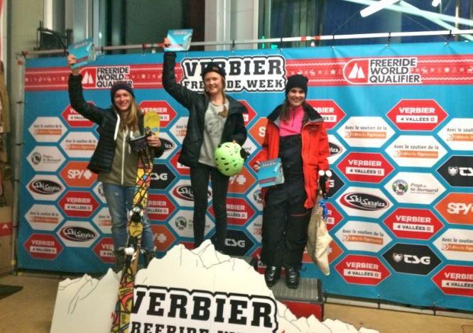 Svenskan vann Verbier Freeride Week
