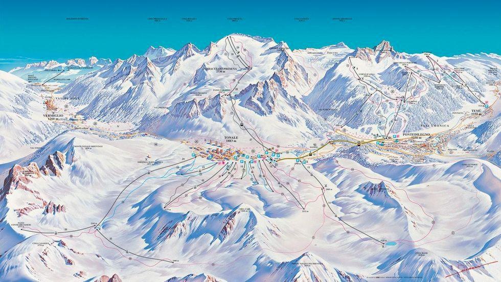 Här har det snöat mest i Alperna