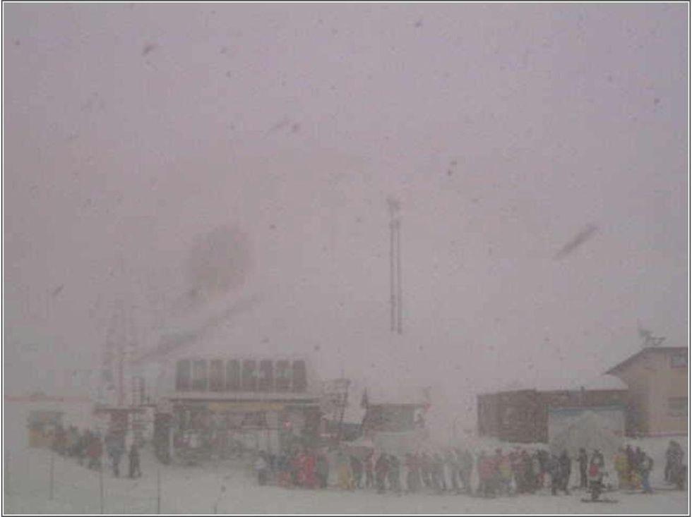Här har det snöat över 3 meter i december