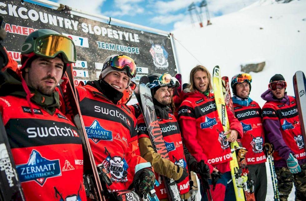 Åkarna uttagna till Skiers Cup