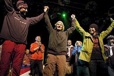 Svensk seger i Derby de la Meije