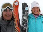 Reine och Rebecka vann i Hemsedal