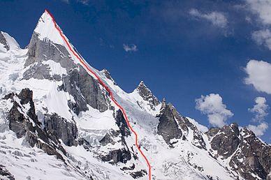 Fredrik tar sikte på K2.