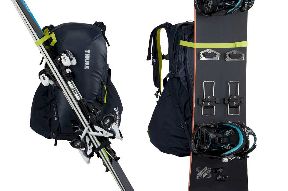 Test av skidryggor: Thule Upslope 35