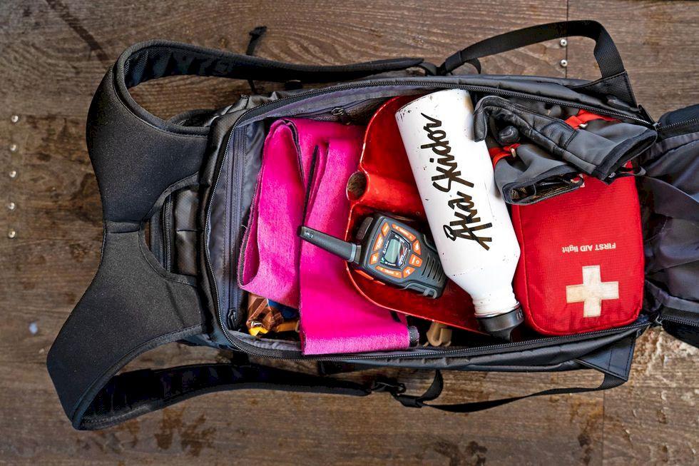 Test av skidryggor: Douchebags The Explorer