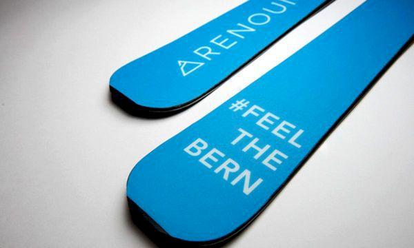 Skidmärkets otippade hyllning av presidentkandidaten