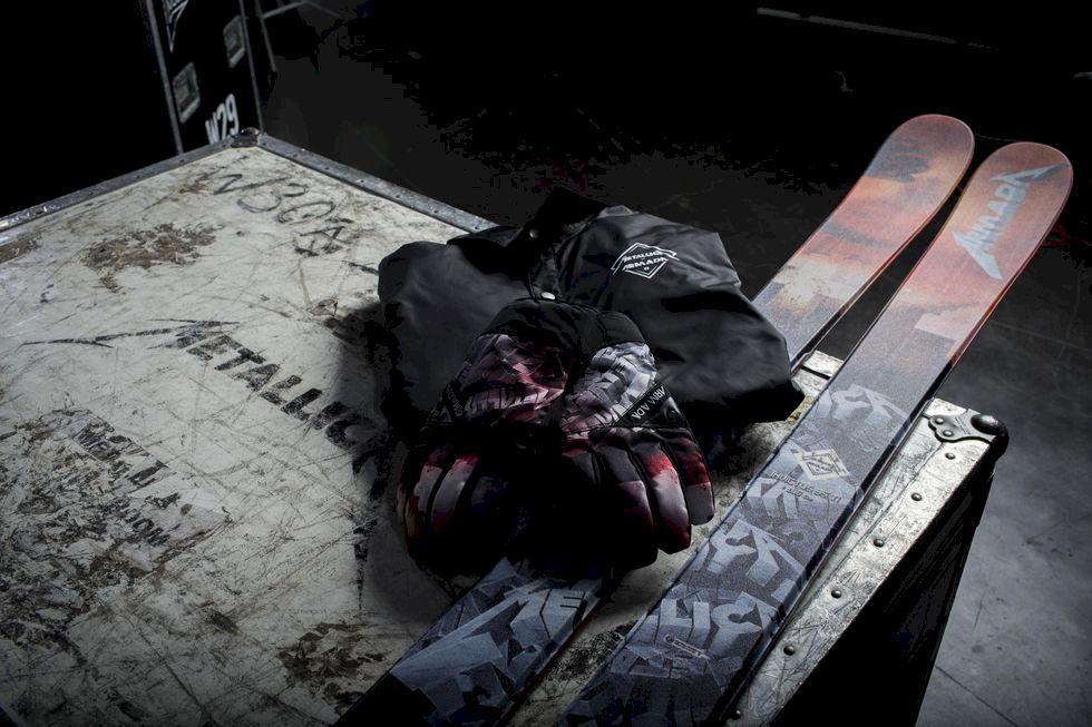 Metallica gör skidor