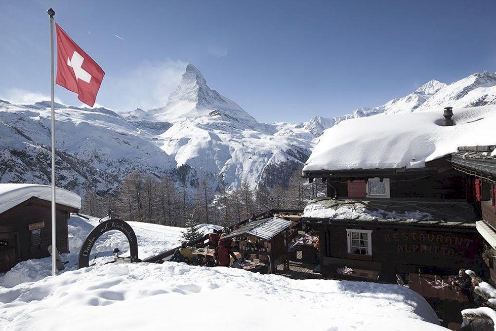 Kronjuvelen vid Matterhorn