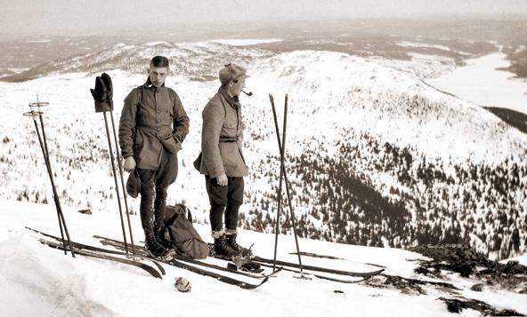 Olle Rimfors - uppfann den svenska utförsåkningen