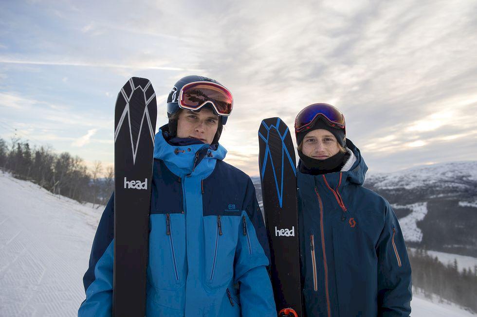 Sveriges bästa skidbröder i ny webbserie