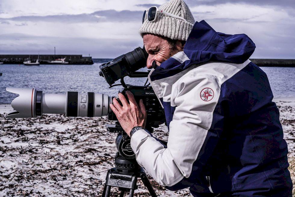 Wille Lindberg laddar inför Nuit de la Glisse