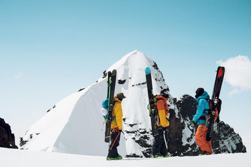 Förstaåk och skidäventyr i Bolivia