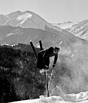 Han är 96 år och åker bättre skidor än du