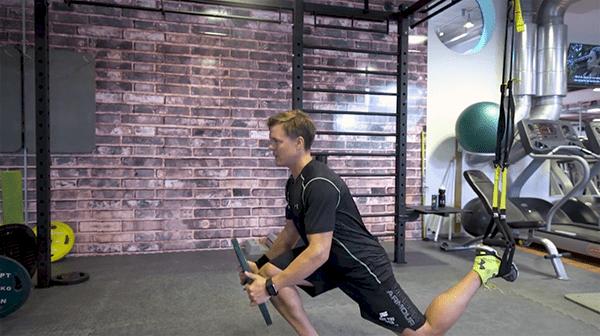 Hargins träningstips: Enbensböj