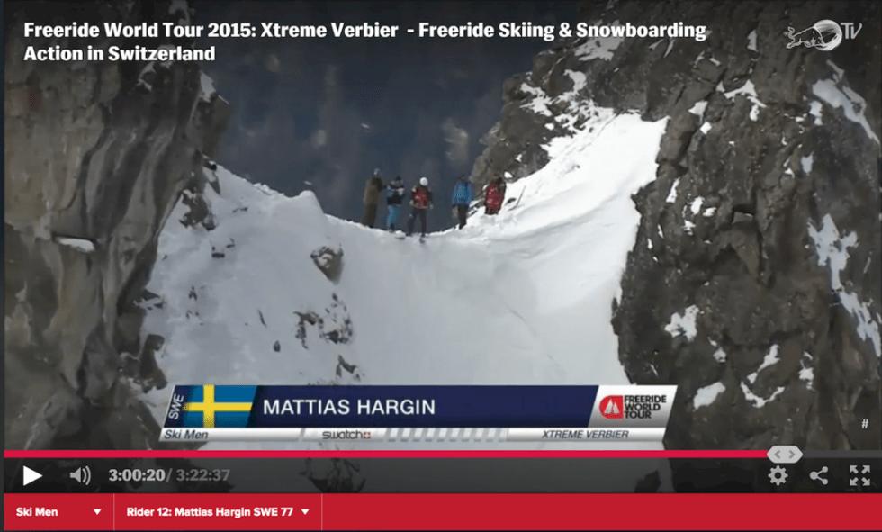 Mattias Hargin om Xtreme Verbier